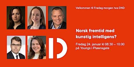 FmhDND: Norges fremtid med kunstig intelligens? tickets