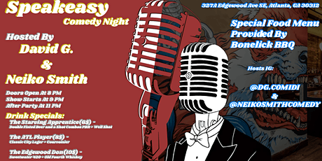 SPEKEZ Comedy Night and AFTER PARTY! tickets