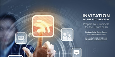 Prepare your business for the future of AV  technology tickets