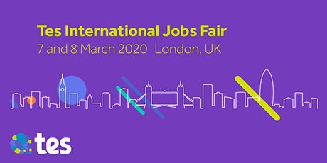 Tes International Jobs Fair tickets