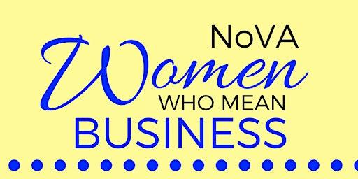 NOVA Women Who Mean Business Networking Event - Jan 24 2020