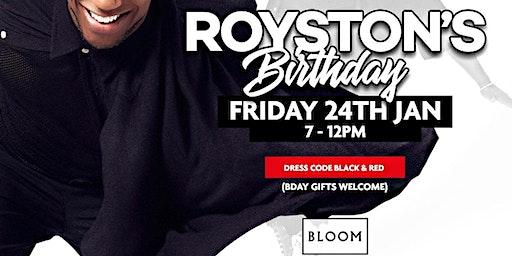 Roystons Birthday Party