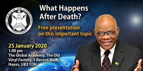 What Happens After Death? tickets