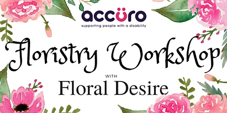 Accuro Spring Flower Arranging Workshop with Floral Desire tickets