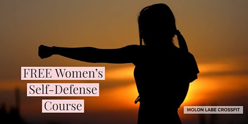 Free women's self-defense course.