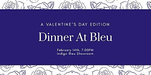 #DinnerAtBleu - Valentine's Day Paint & Sip Dinner