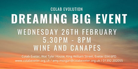 Dreaming Big Event tickets
