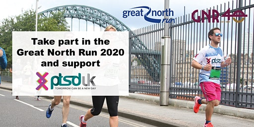 2020 Great North Run to support PTSD UK