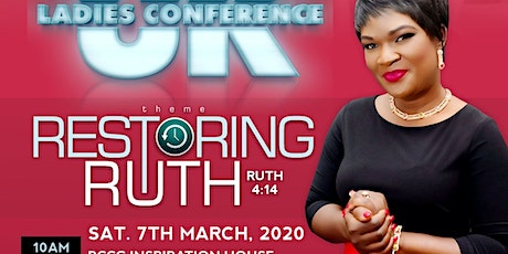 RESTORING RUTH (KENT LADIES CONFERENCE) tickets