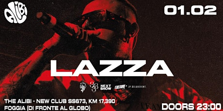 LAZZA + After Party | The Alibi (Foggia) biglietti