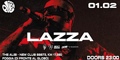 LAZZA + After Party | The Alibi (Foggia)