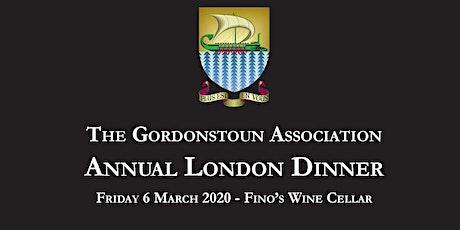 GA Annual London Dinner tickets