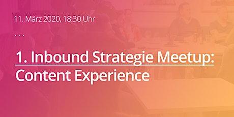 1. Inbound Strategie Meetup Köln tickets
