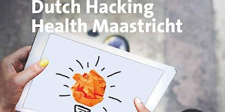 Dutch Hacking Health Maastricht 2020 tickets