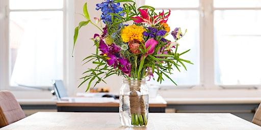 Spring Floral Arrangement Workshop