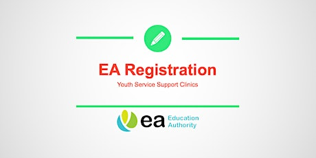 EA Youth Service Registration Support Clinic - Cookstown tickets