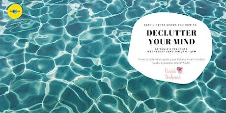 Safe Space Wellness Wednesday - Declutter Your Mind tickets