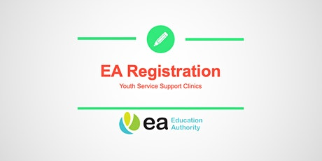 EA Youth Service Registration Support Clinic - Finaghy tickets