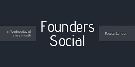 Founders Networking Social tickets