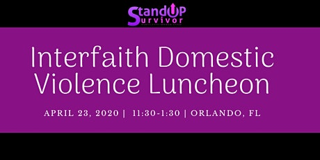 Interfaith Domestic Violence Luncheon tickets