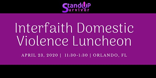 Interfaith Domestic Violence Luncheon