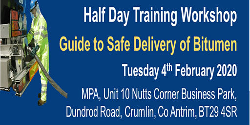 Guide to Safe Delivery of Bitumen Workshop