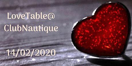 LoveTable@ClubNautique tickets