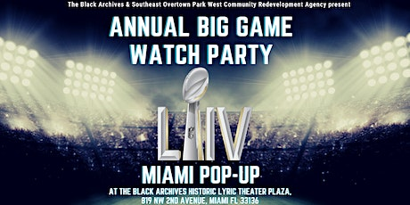 Annual  Big Game LIV Watch Party Miami Pop-up tickets