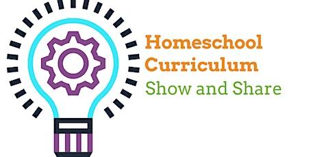 Homeschool Curriculum Show and Share tickets