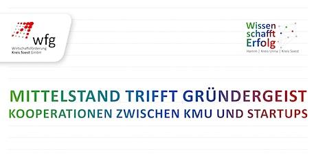 Mittelstand trifft Gründergeist - Kooperationen zwischen KMU und Startups Tickets