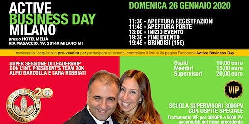 Active Business Day Milano - 26 Gennaio 2020
