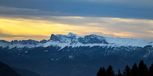 Balade en raquettes à neige et coucher du soleil sur le Hohneck !