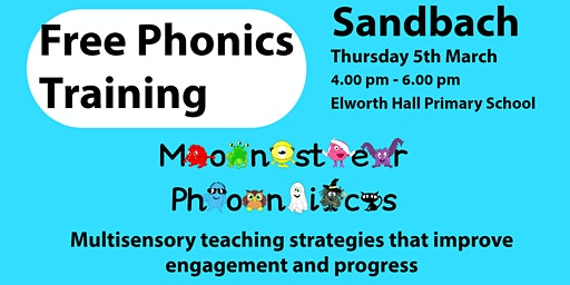SANDBACH FREE PHONICS TRAINING