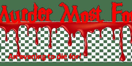 Murder Most Foul pt2 tickets