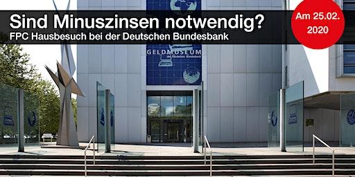 FPC Hausbesuch bei der Deutschen Bundesbank