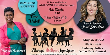 #AML2020 - Annual Signature Event of Always Mothers Luncheon tickets