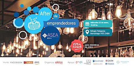 After de Emprendedores | ENERO entradas