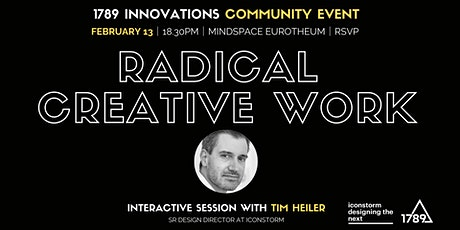 Radical Creative Work — Designing Cultures of Innovation billets