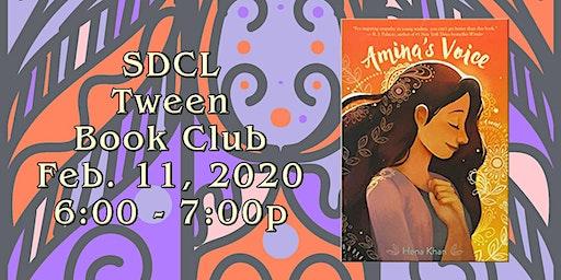 Tween Book Club: February