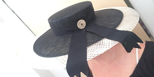 MILLINERY WORKSHOPS FOR BEGINNERS - Race Wear and Saucer hats