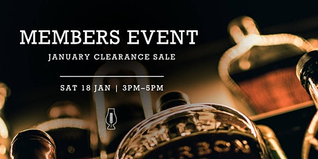 Members Event :: January Clearance Sale!  tickets