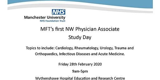 MFT's first NW Physician Associate Study Day