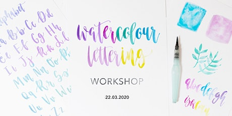 Mother's Day Watercolour Brush Lettering Workshop tickets
