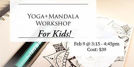 Kids Yoga + Mandala Workshop tickets