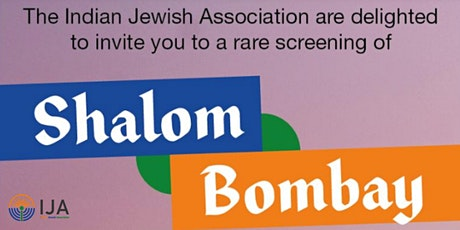 Shalom Bombay Screening and Drinks Reception tickets
