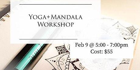 Yoga + Mandala Workshop tickets