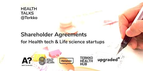 Health Talks: Shareholder Agreements tickets