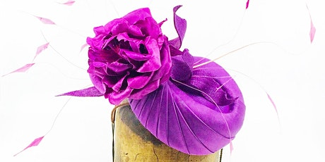 HAT MAKING COURSE FOR BEGINNERS - Fabric Crowns & Couture Perchers tickets