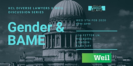 Diverse Lawyers x Weil Discussion Series: Gender & BAME Identity tickets