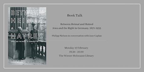 Book Talk: Between 'Heimat' and Hatred tickets